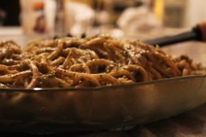 Spaguetti al Pesto