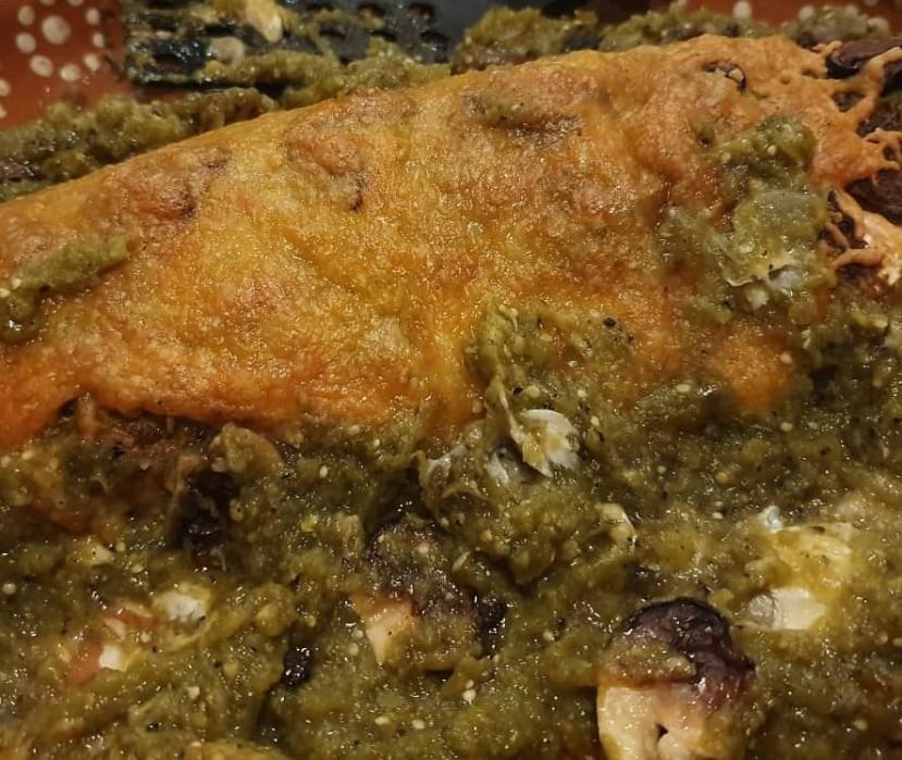 Lubina en salsa verde